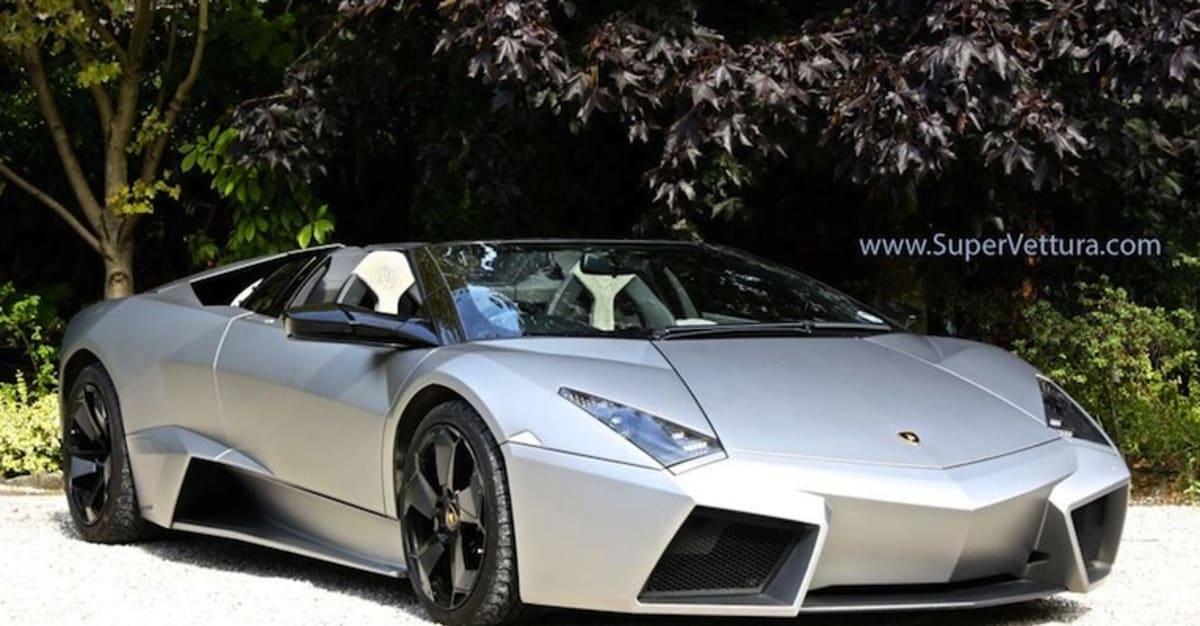 This Ultra Rare Lamborghini Reventon Roadster Is Worth the 175M