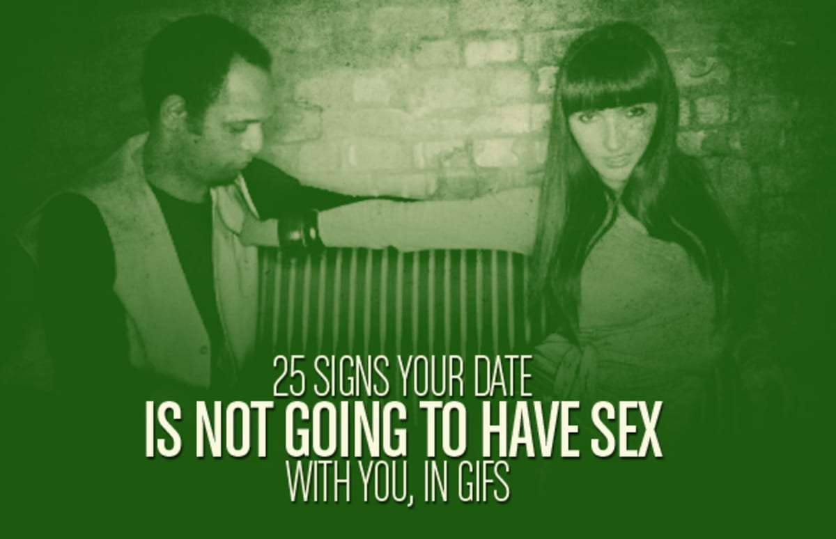 Signs dating is going nowhere