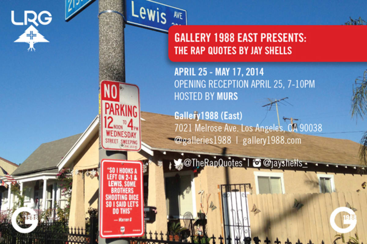 Exhibition Shell Quotes : Jay shells to open quot the rap quotes exhibition at gallery