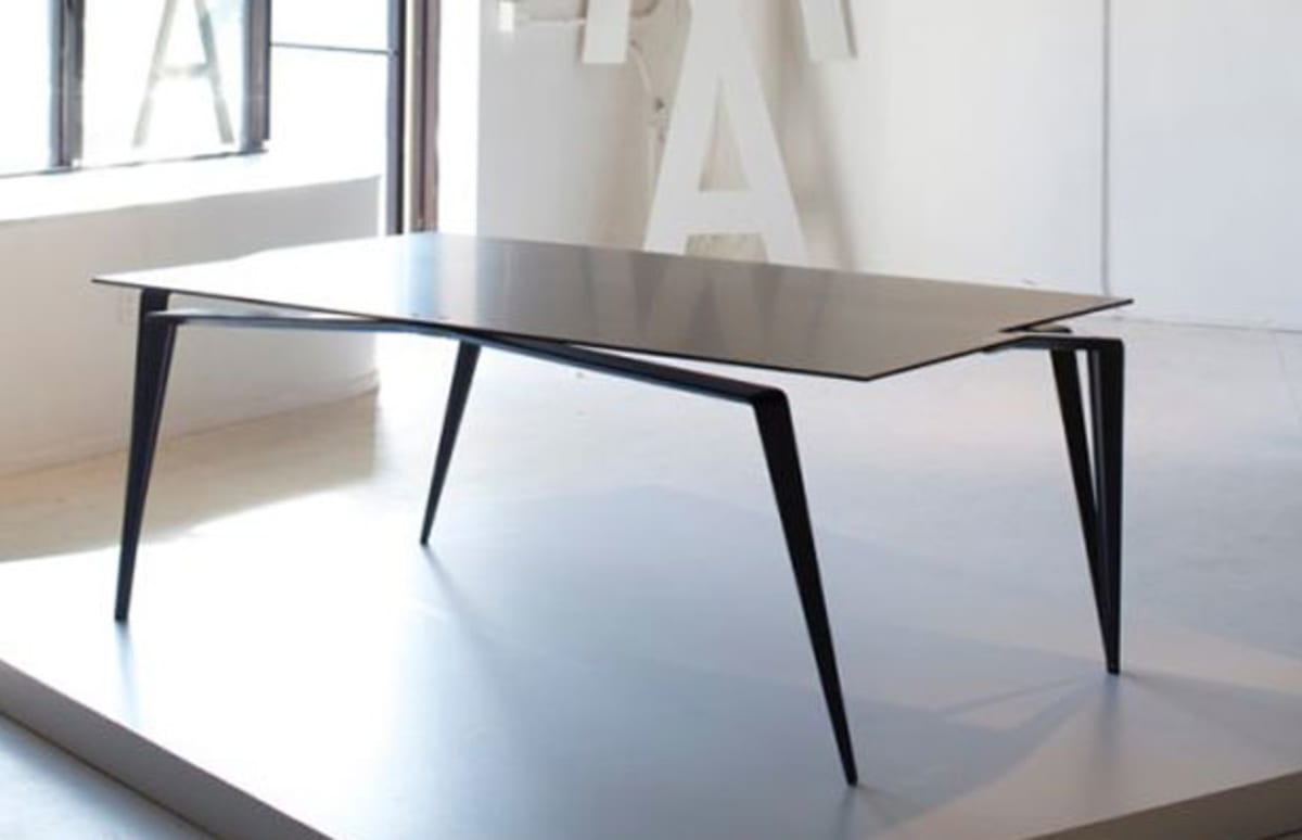 68 000 coffee table made of carbon fiber and titanium for Complex table design