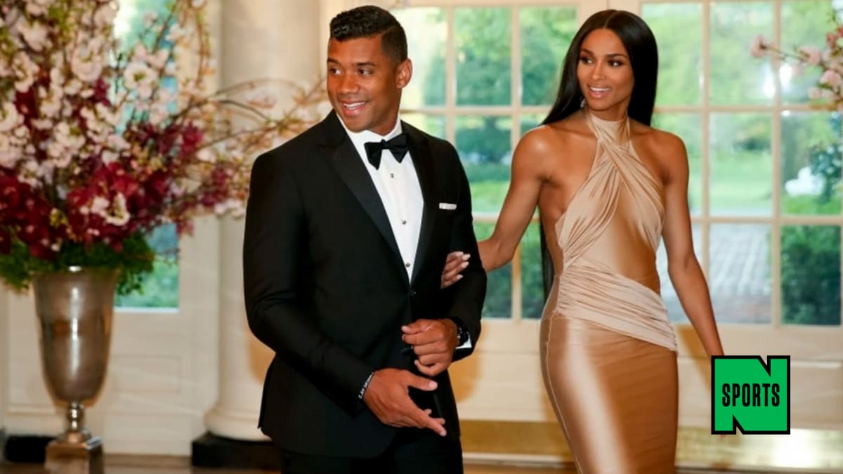 Ciara Runs Route, Catches Pass From Russell Wilson, Solidifies Status as Best Girlfriend Ever