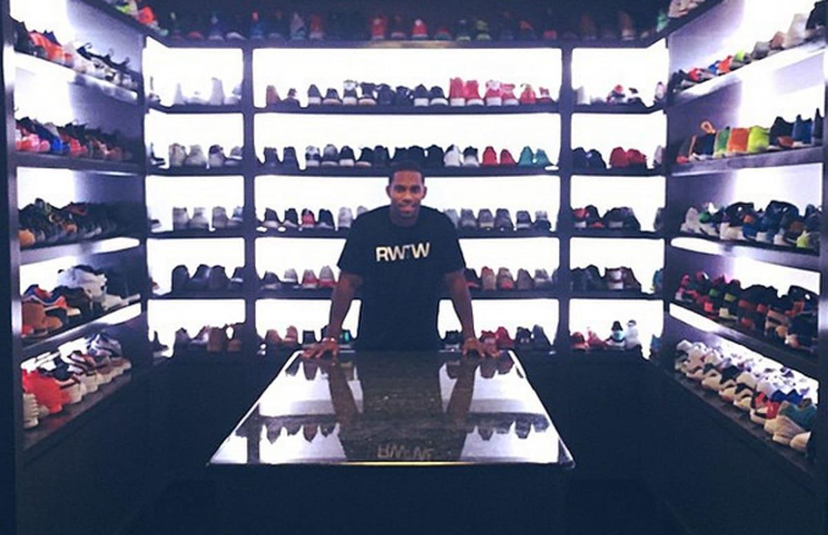 Beau A Look Insider Victor Cruzu0027s Sneaker Closet | Complex