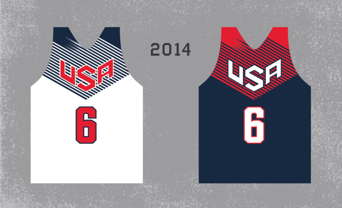 Looking Back At The History Of Team Usa Basketball Jerseys Complex