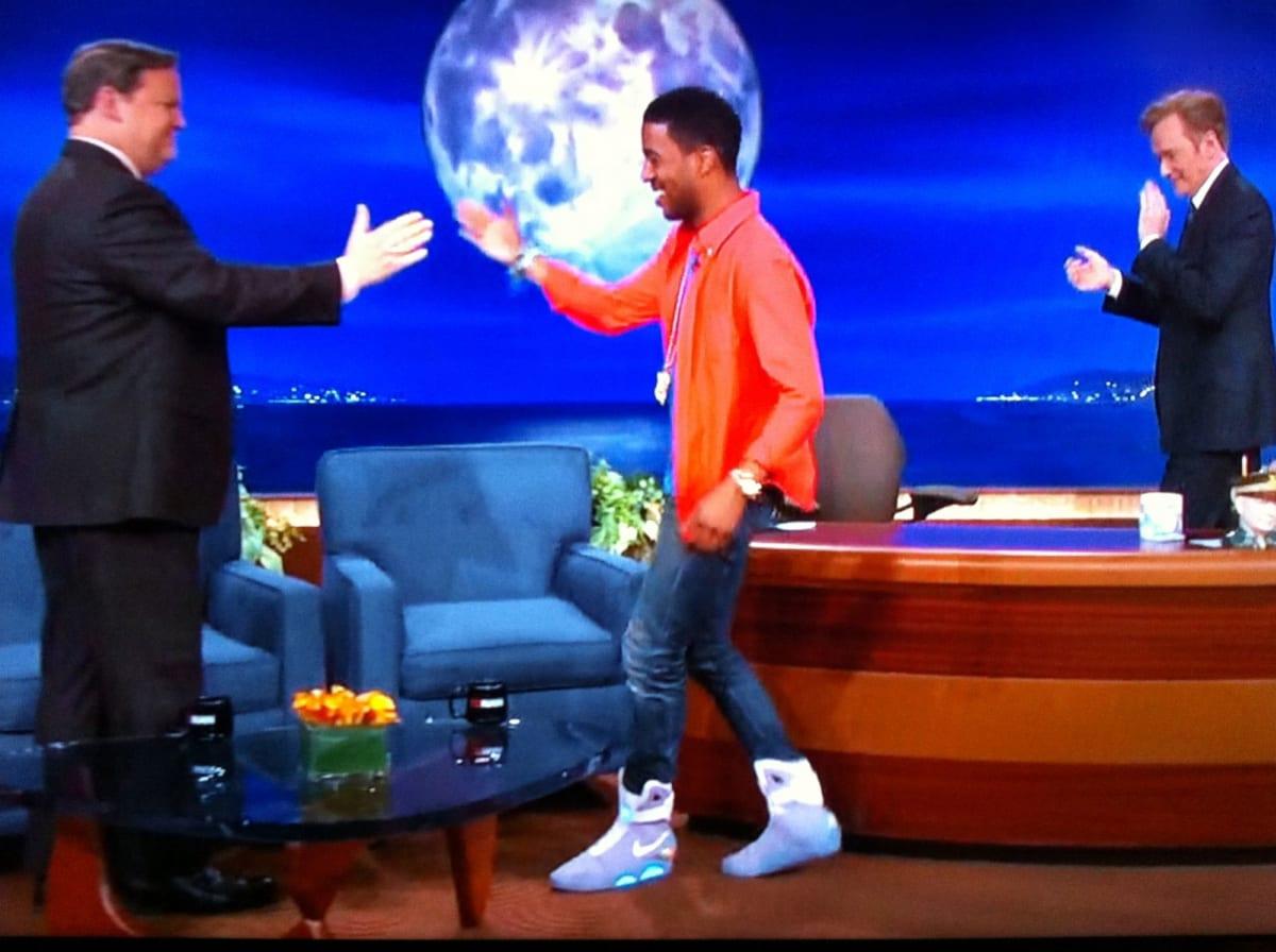 Kid Cudi Jordans David Letterman