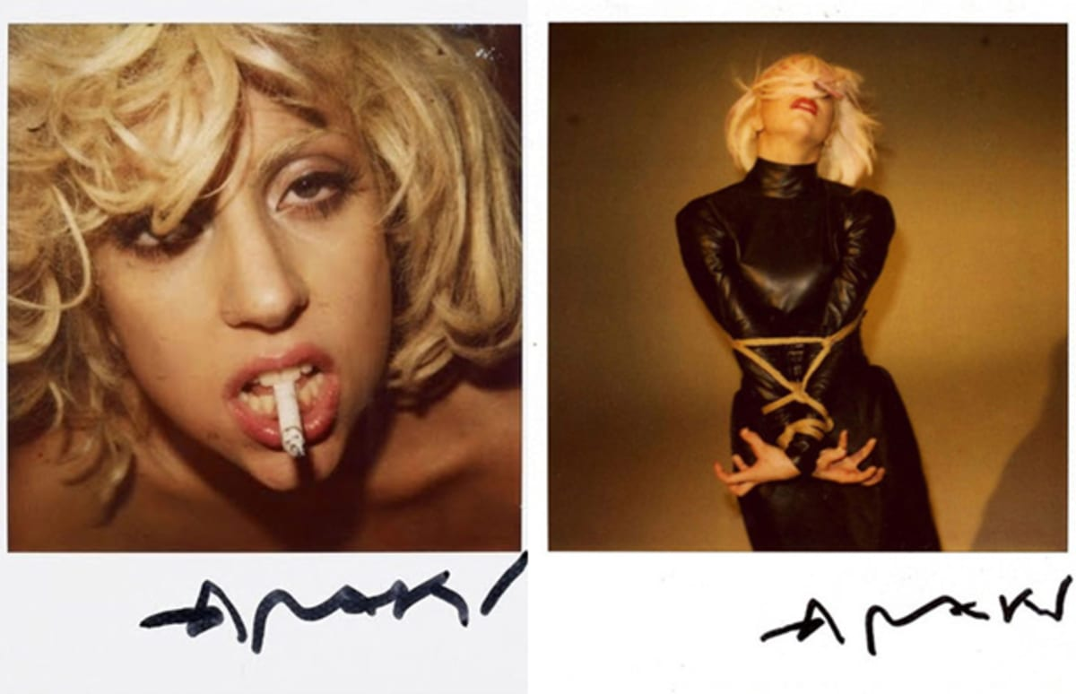 uniQuePic: Lady Gaga Is A Man In Vogue Hommes Japan