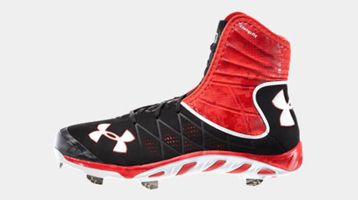 Under Armour High Top Turf Shoes
