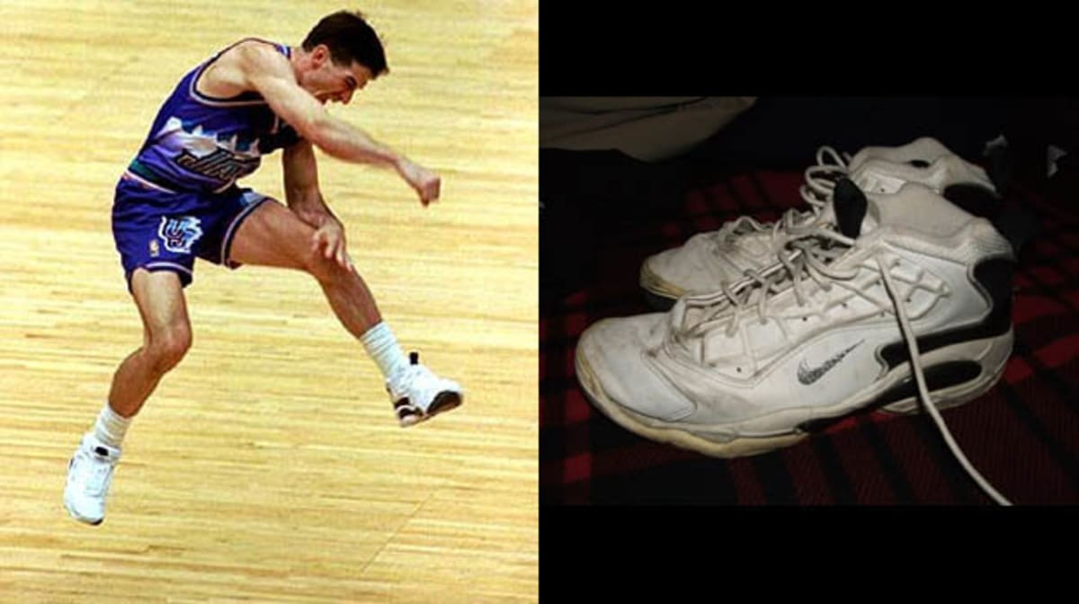 f3b3302f0795 Today in Performance Sneaker History  John Stockton is First Player with  2500 Steals in Nike Air Zoom Challenge