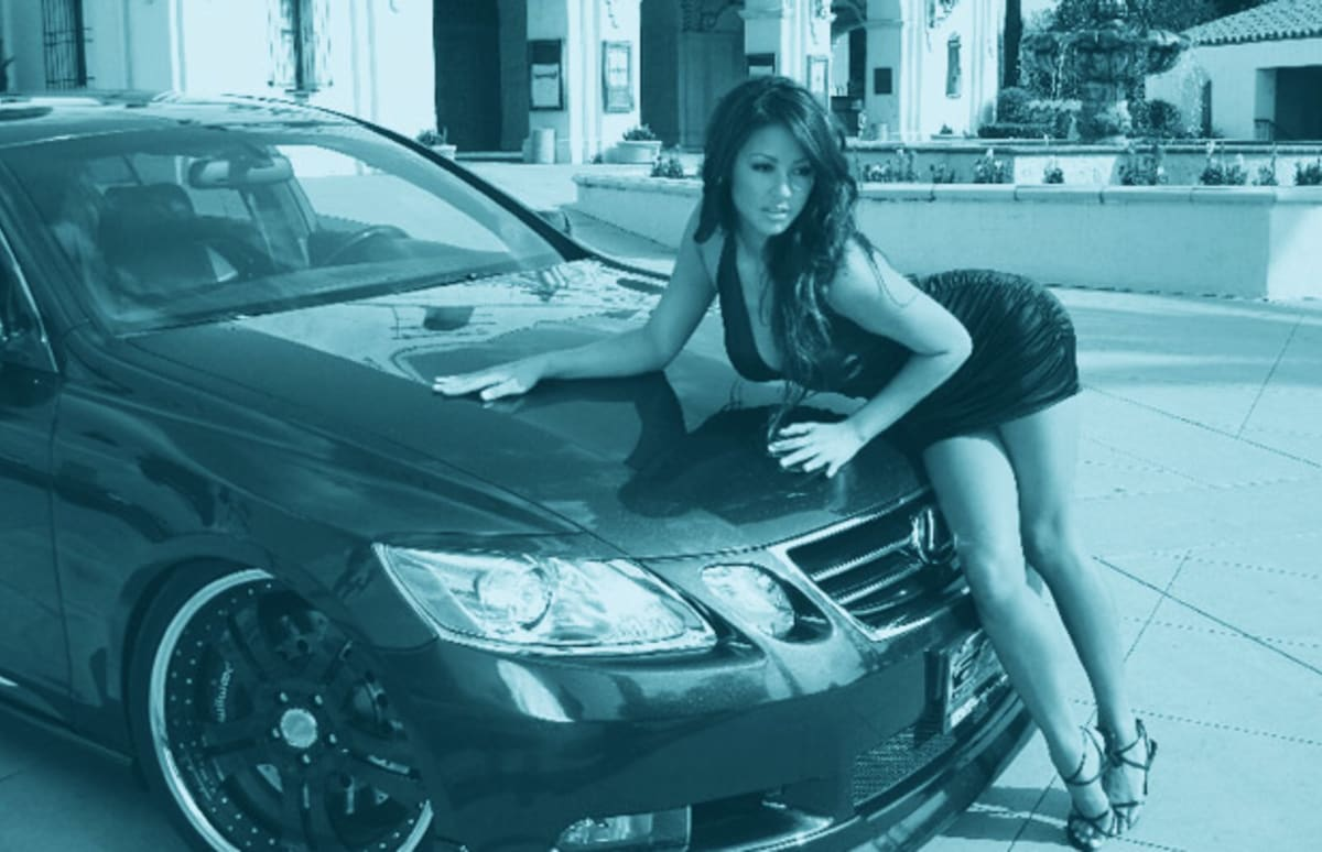 asian chicks and cars