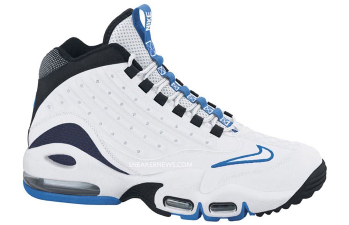 nike air griffey max ii quot white black blue quot complex