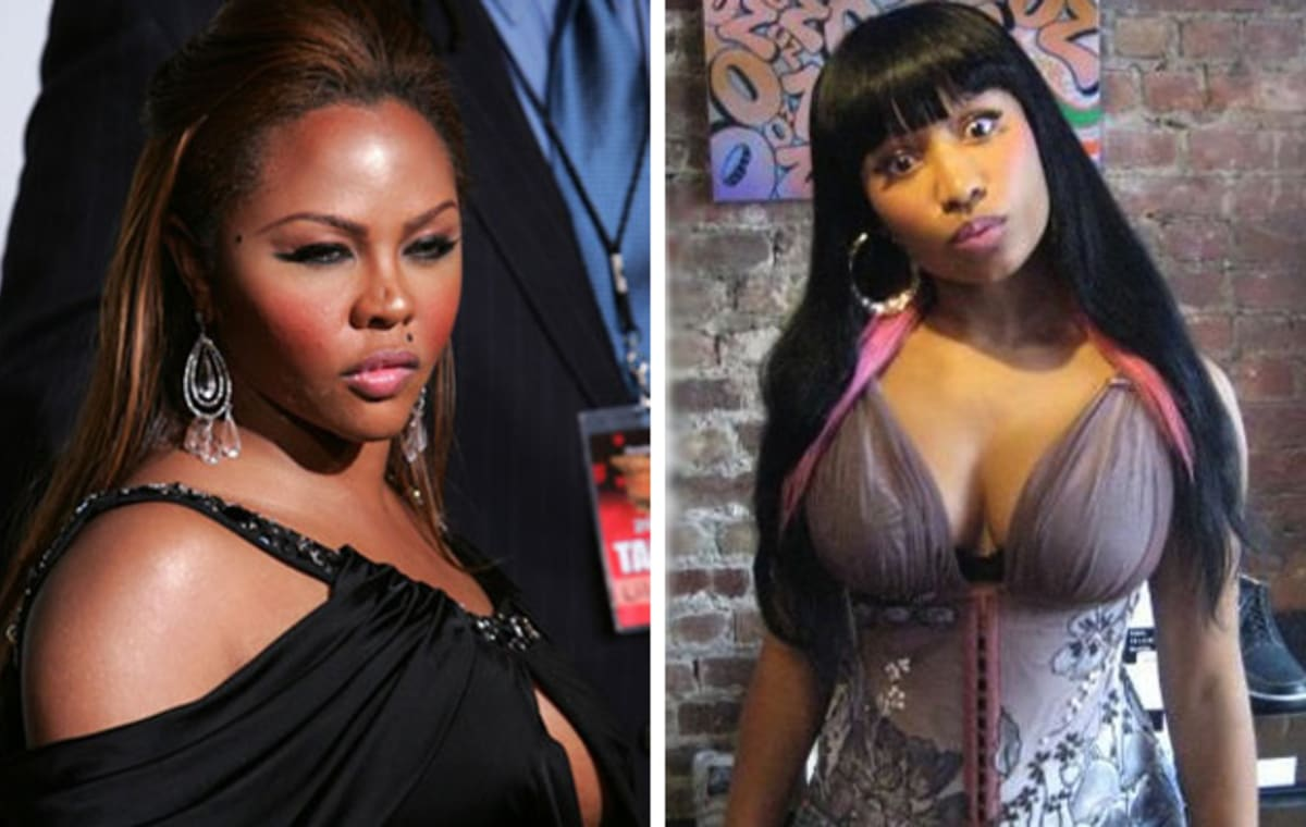 Lil Kim And Nicki Minaj Together A History of Lil Kim &...
