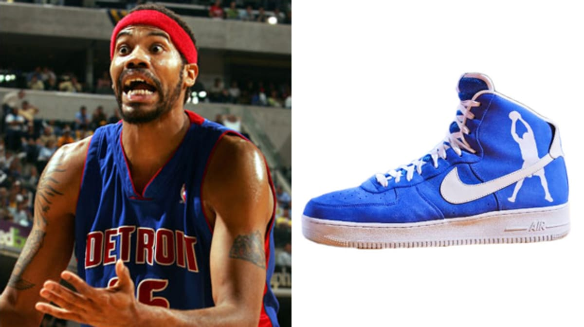 Today in Performance Sneaker History Rasheed Wallace is Born in