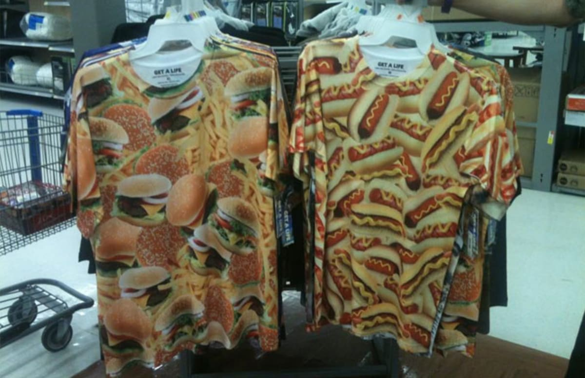 Ridiculous t shirts for sale at walmart complex for Walmart custom made t shirts