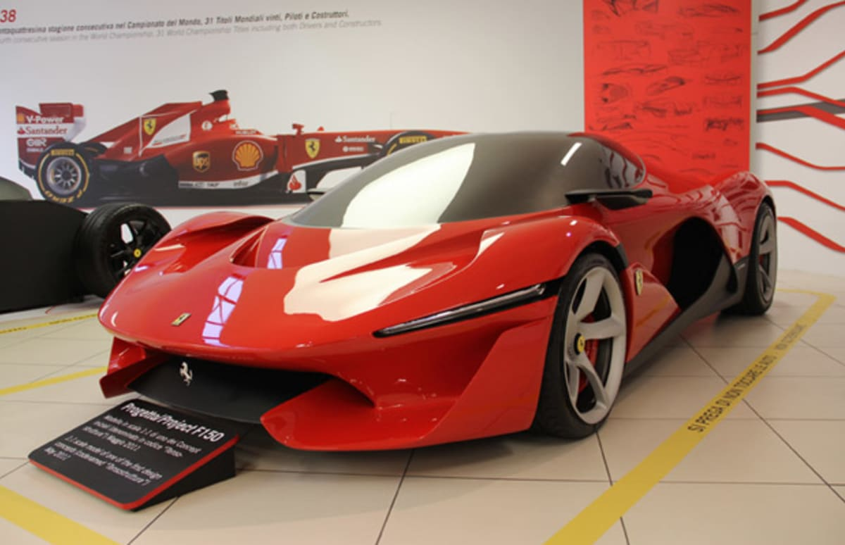 Gallery the ferrari f150 concepts looked much more like gallery the ferrari f150 concepts looked much more like spaceships before they became the laferrari complex vanachro Gallery