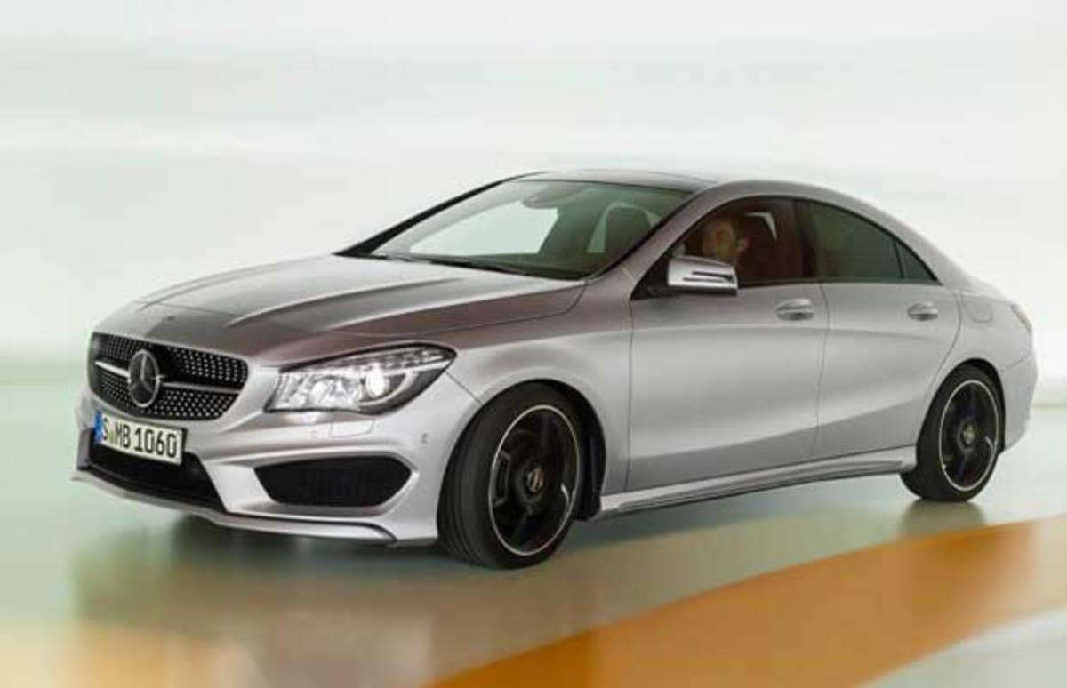 Mercedes benz unveils new entry level sedan complex for Mercedes benz financial statement