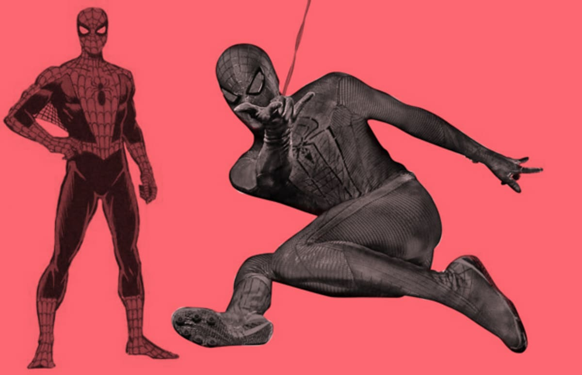 The Style Evolution of Spider-Man