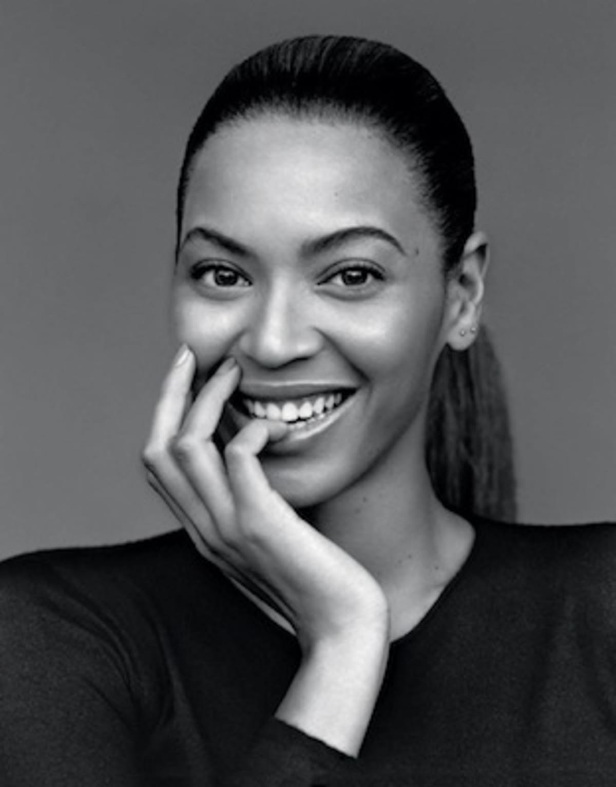 Beyoncé looks beautiful in a black and white shoot for the gentlewoman