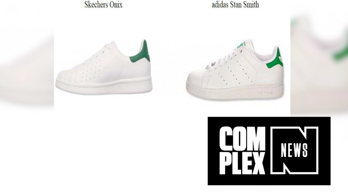 df6c5662e8b A Federal Judge Ordered Skechers to Stop Copying the adids Stan Smith  Design