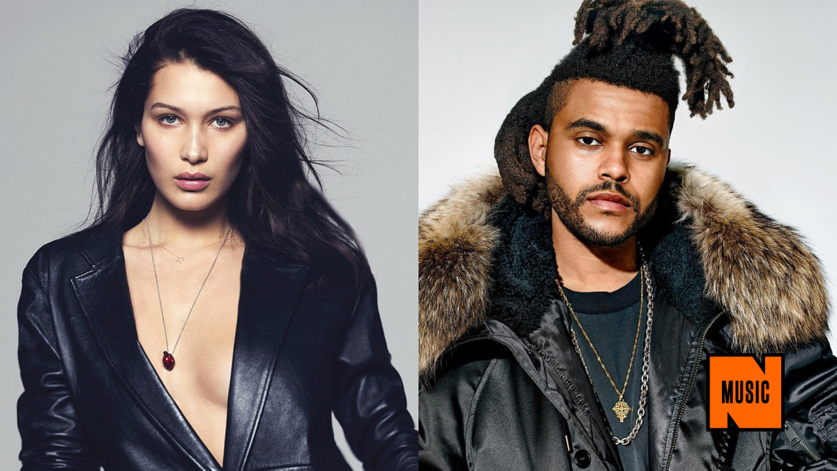 The Weeknd Goes Public With 18-Year Old Model Girlfriend ...