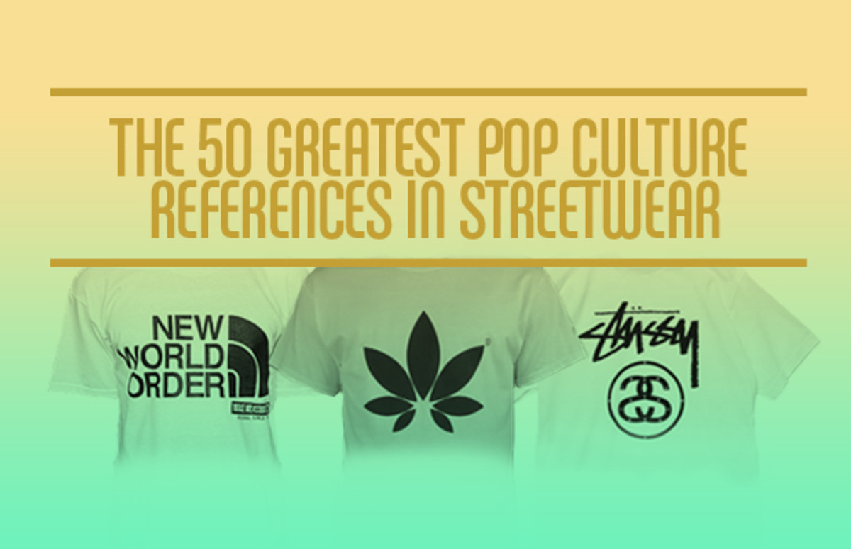 The 50 Greatest Pop Culture References In Streetwear | Complex