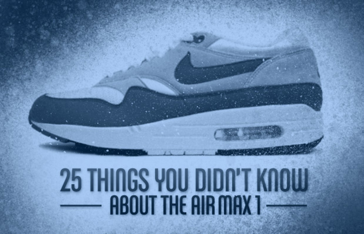c0e137d80f 25 Things You Didn't Know About the Air Max 1 | Complex