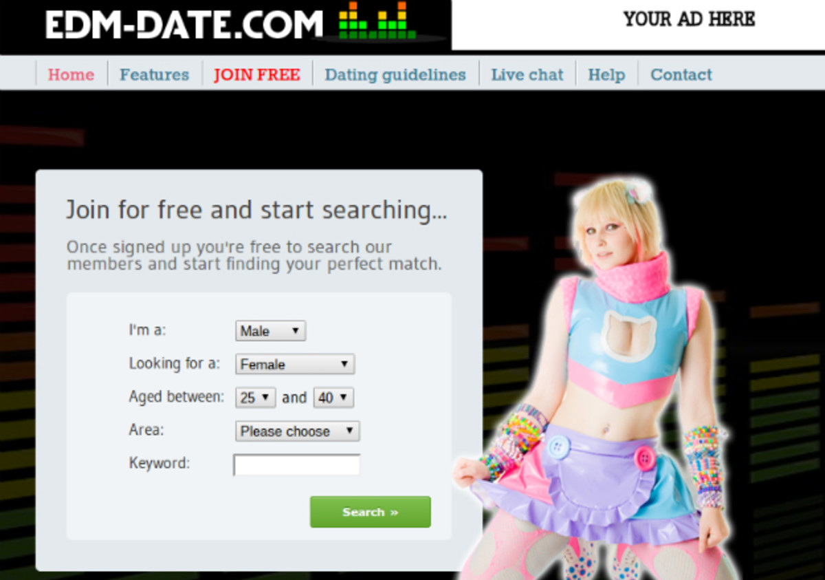 Single Ravers Now Have Their Own Online Dating Site, EDM