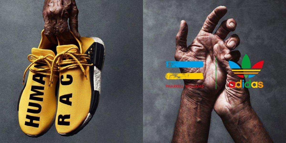 Adidas Pharrell NMD Yellow   Complex