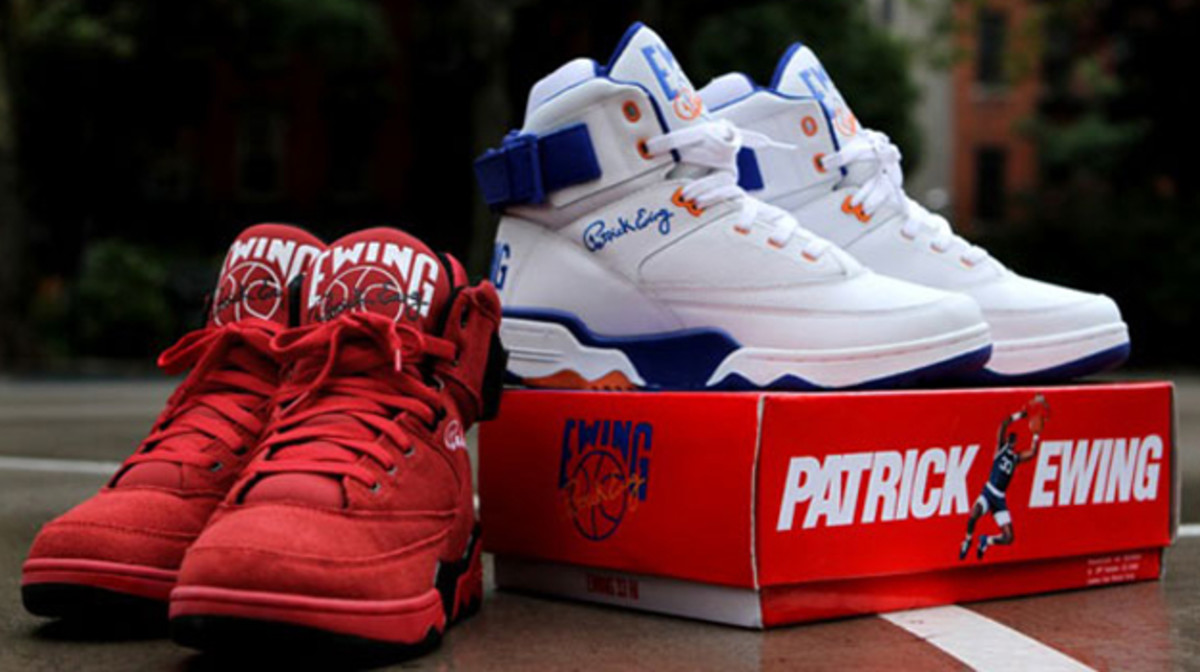 5836e71bb9a Ball Like Patrick Ewing Himself with the Ewing 33 Hi Basketball Sneakers |  Complex