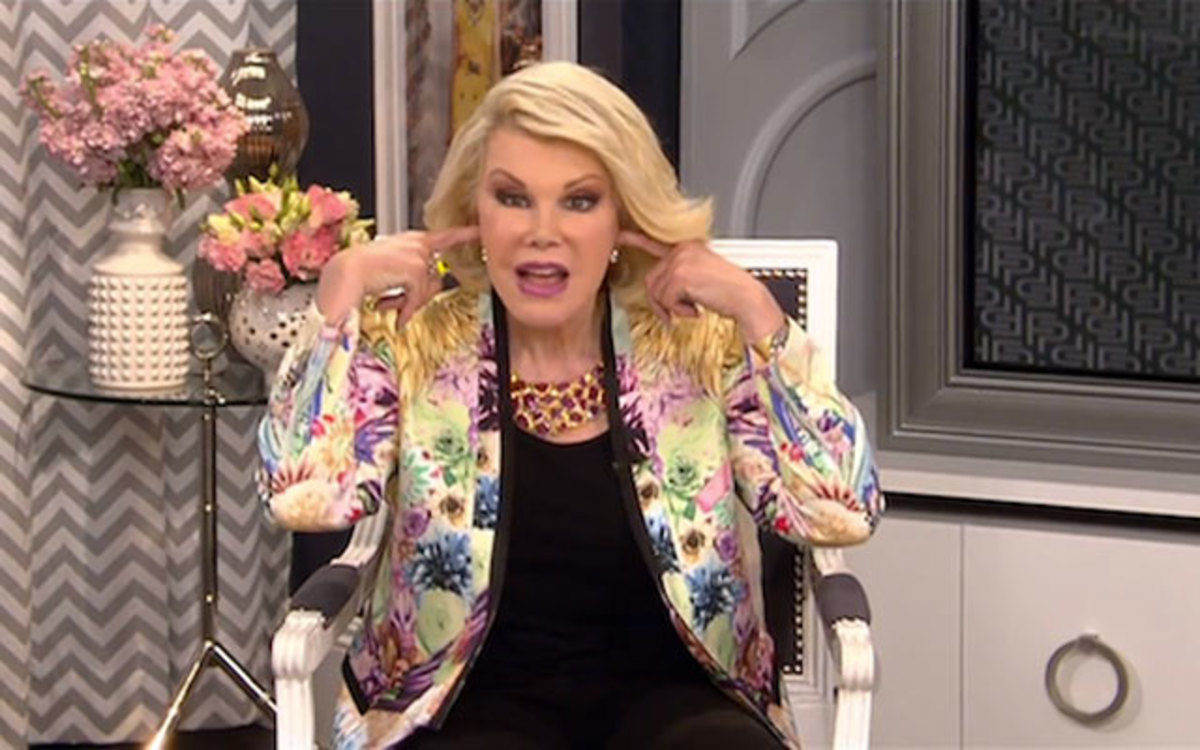 Joan Rivers Will Be Buried With The Red Carpet From Her