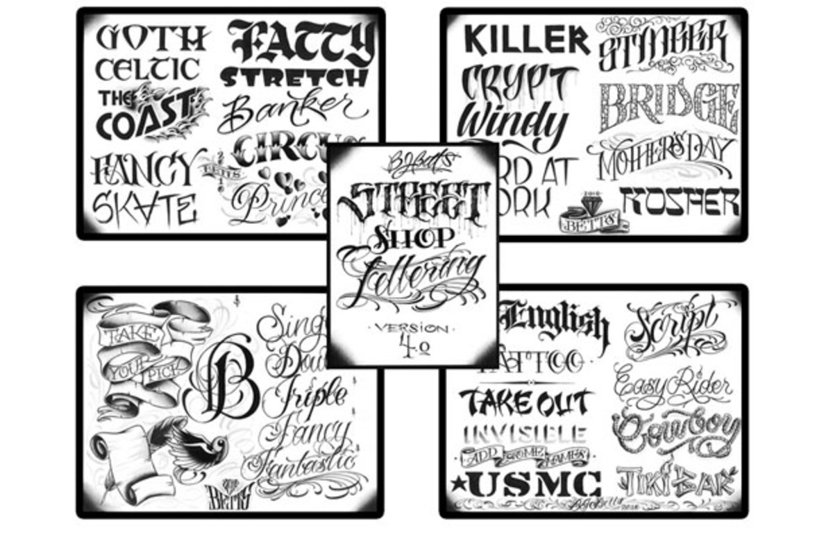 The Complex Guide To Tattoo Lettering | Complex