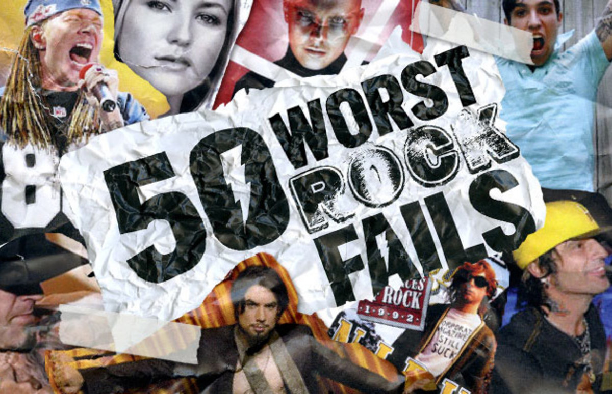 The 50 Worst Rock Fails Of All Time | Complex
