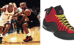 Tim Hardaway in the Nike Air Bakin