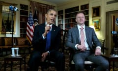 President Obama and Macklemore speak on opioid abuse