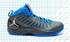 The Air Jordan Superfly Basketball Shoe