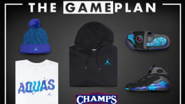 c0401348b56 The Game Plan by Champs Sports Presents the Jordan Aqua Collection