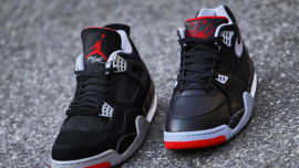 pretty nice 48bd0 1760c Check out This Side-By-Side Comparison of the Air Jordan IV and Nike Air  Flight  89