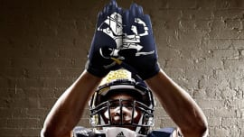 75a3ed44d Notre Dame Football Gets adidas TECHFIT Uniforms