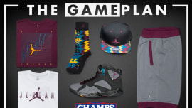 1947a3aff22 The Game Plan by Champs Sports Presents the Jordan Bordeaux Collection