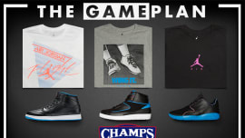 00731f72b09501 The Game Plan by Champs Sports Presents the Jordan Radio Raheem Collection