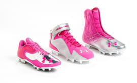 UA Breast Cancer Awareness Cleats_3