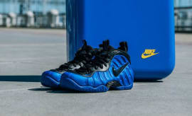 Nike Air Foamposite Pro Hyper Cobalt with Special Packaging at Golden Air