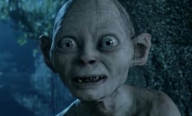 Gollum Lord of the Rings Screengrab