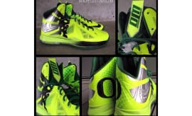 Mache Is Back With Another Oregon-Themed Custom LeBron X b1bc346b22