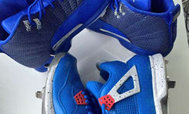 Marcus Stroman Air Jordan PE Cleats