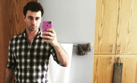 James Deen Adult Film Star Instagram Selfie
