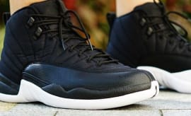 Air Jordan XII 12 Black Nylon Release Date