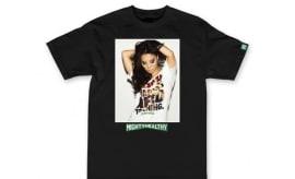 Van Styles Shoots Asa Akira for a New Mighty Healthy T-Shirt 98e20cb727ab