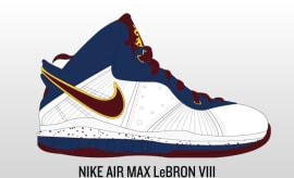 Imagining the Nike LeBron Line if LeBron James Never Left Cleveland. By  Rajah Allarey 7f99126bbc
