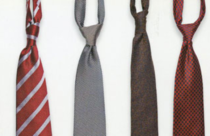 Just The Tips: How to Choose a Tie Knot