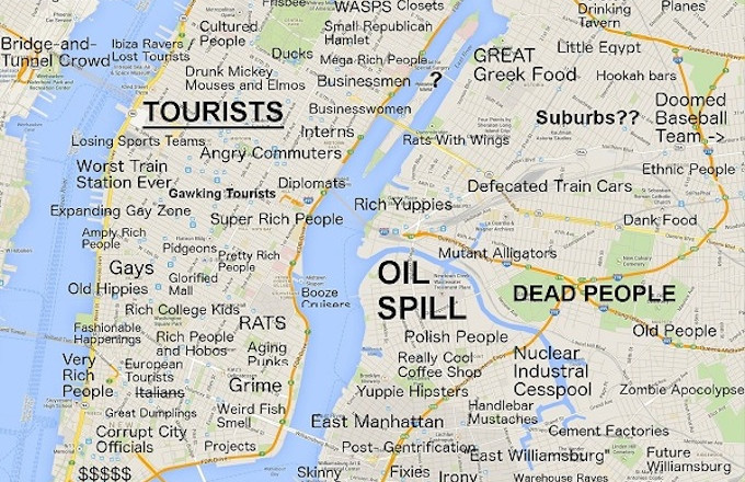 Judgmental Maps Sum Up Awful Stereotypes Of Your City