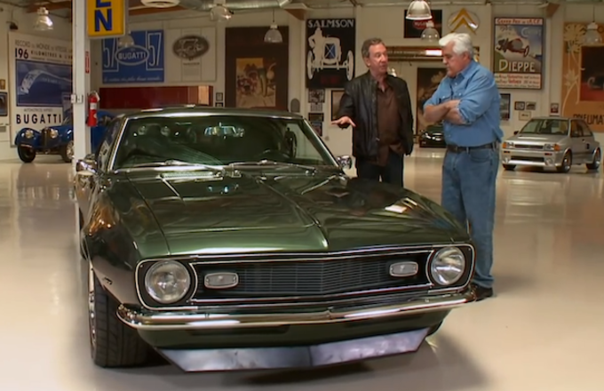 Tim Allen Rolls Into Jay Lenos Garage With His Incredible
